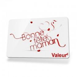 """Carte cadeau """"Fête des Mères"""""""